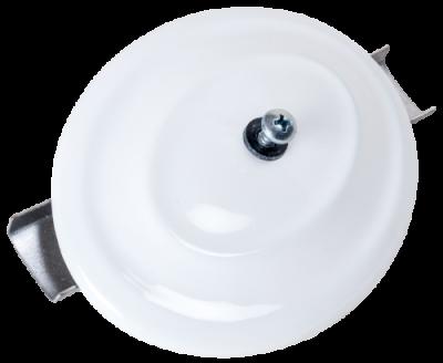 Putztür für weiß emaillierte Ofenrohre mit DN 100 bis 110 mm