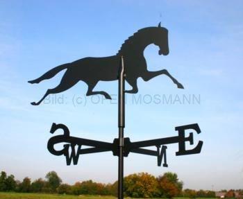 Wetterfahne Motiv Pferd Format: groß
