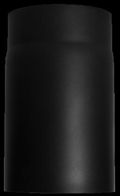 Ofenrohr Kaminofen DN 180 mm 0,25 m Länge schwarz #310
