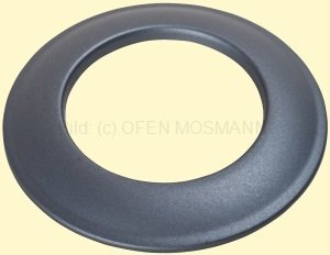 Ofenrohre DN 150 mm Senotherm Dünnwand Wandrosette gussgrau
