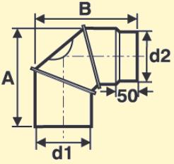 Maßskizze FAL Bogen verstellbar