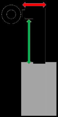 Set 1bWs Senotherm DN 120 mm schwarz Anschlusshöhe 90 - 110 cm