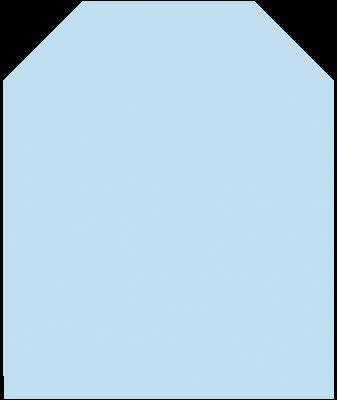 Bodenplatte B2K Klarglas 8 mm Stärke. 1000 x 1000 mm trapezförmig klein