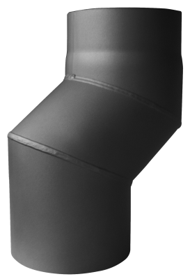 S-Versatzbogen 4 cm Senotherm DN 130 mm gussgrau #288