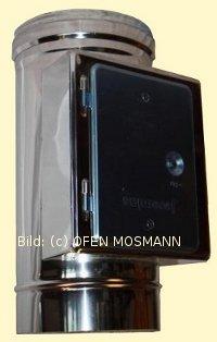 DW ECO 2.0 Edelstahlschornstein DN 250 mm Reinigungselement eckig