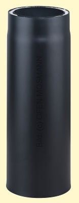 Doppelwandiges Ofenrohr Primus DN 130 mm Länge 0,25 m schwarz #310