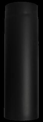 Ofenrohr Kaminofen DN 150 mm 0,75 m Länge schwarz #310