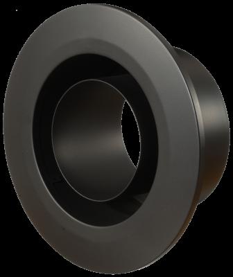 Wandfutter mit integrierter Rosette für doppelwandiges Ofenrohr Primus DN 180 mm