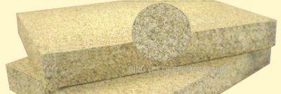 Feuerraumauskleidung für Kaminofen 25 mm Stärke. 1 Stück Vermiculite-Platte 500 x 300 x 25 mm