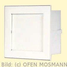 CB Putzkapsel quadratisch 140 mm x 140 mm, weiß. Putzbündig