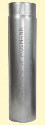 Ofenrohre DN 130 mm 2 mm Ofenrohr unlackiert 0,25 m Länge