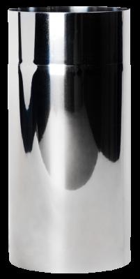 Ofenrohr aus Edelstahl DN 180 mm Längenelement 0,25 m