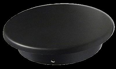 Ofenrohr Blinddeckel DN 120 mm schwarz #310