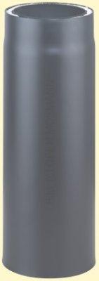 Doppelwandiges Ofenrohr Primus DN 150 mm Länge 0,33 m gussgrau #288