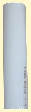 Ofenrohr DN 110 mm weiß pulverbeschichtet. Ofenrohr DN 1,00 m Länge