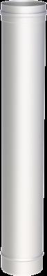Edelstahlschornstein EW 200 mm x 0,6 mm Kaminrohr 1,00 m Länge