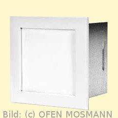CB Putzkapsel quadratisch 140 mm x 140 mm, weiß. Aufputz
