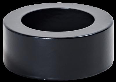 Ofenrohr für Pelletofen DN 80 mm Abdeck-Ring / Blende für Isolierung