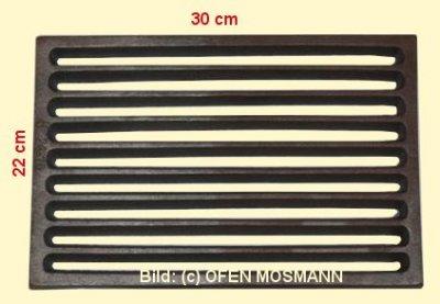 Ofenrost (Tafelrost) Breite 22 x Länge 30 cm
