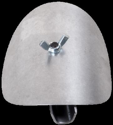 Ofenrohr Putztür für 2 mm Ofenrohre mit DN 180 mm