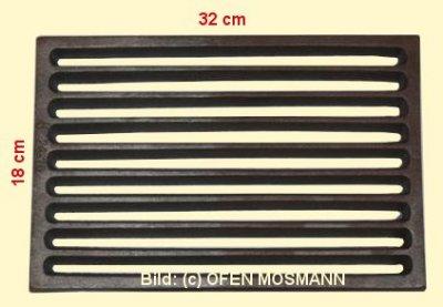 Ofenrost (Tafelrost) Breite 18 x Länge 32 cm