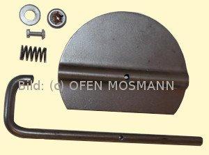 Ofenrohr Drosselklappe für DN 160/2 mm Bausatz