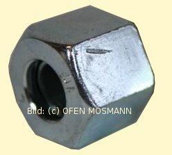 Heizölleitung 12 mm Schneidring-Überwurfmutter ?WM 12 mm Stahl-verzinkt