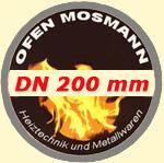 Ofenrohre mit Durchmesser 200 mm