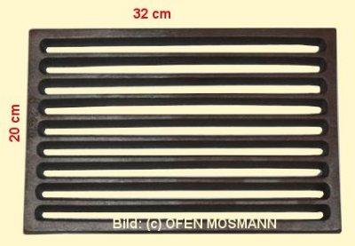 Ofenrost (Tafelrost) Breite 20 x Länge 32 cm