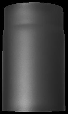 Ofenrohr Kaminofen DN 180 mm 0,25 m Länge gussgrau #288