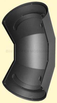 Ofenrohr Wärmeschutz Bogen 90° Senotherm DN 150 gussgrau #288