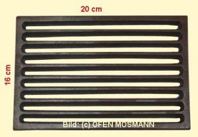 Ofenrost (Tafelrost) Breite 16 x Länge 20 cm