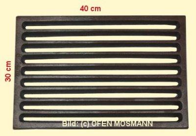 Ofenrost (Tafelrost) Breite 30 x Länge 40 cm