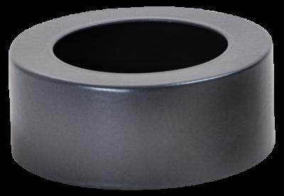 Ofenrohr für Pelletofen DN 100 mm Abdeck-Ring / Blende für Isolierung