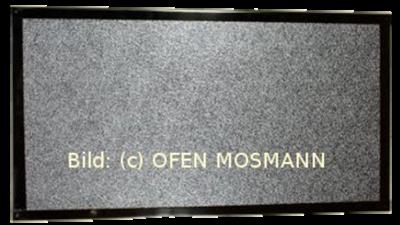 Hitzeschutzplatte 100 cm x 50 cm x 3 mm ISOPLAN 750 mit Alurahmen