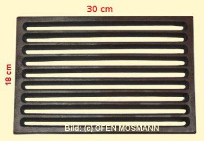 Ofenrost (Tafelrost) Breite 18 x Länge 30 cm