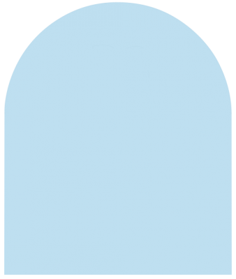 Bodenplatte B3 Klarglas 8 mm Stärke. 1000 x 1200 mm halbrund groß