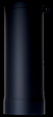 Ofenrohr Kaminofen DN 150 mm Anschlussstutzen 0,40 m Länge schwarz #310