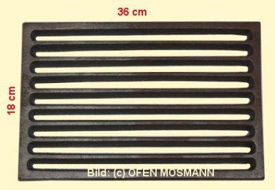 Ofenrost (Tafelrost) Breite 18 x Länge 36 cm