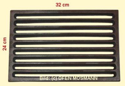 Ofenrost (Tafelrost) Breite 24 x Länge 32 cm