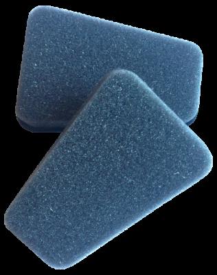 Scheibenreiniger zur Trockenreinigung (2 Schwämme)