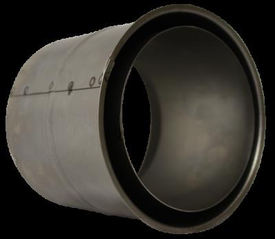 Doppelwandfutter für Ofenrohre mit 2 mm Wandstärke im DN 120 mm