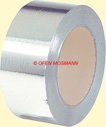 Aluflexrohr Aluminium Klebeband 5 cm Breite 10 m Länge
