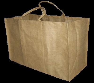 Tasche aus Jute - rechteckig