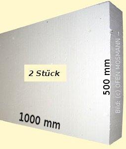 PROMASIL 950-KS 2 Stück Wärmedämmplatte Stärke 100 mm Fläche 1,0 m²