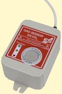 Externer Sensor für Kohlendioxid (CO2)