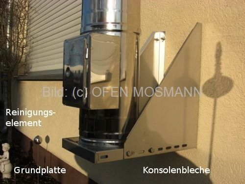 montageanleitung der konsole des schornsteins von ofen mosmann. Black Bedroom Furniture Sets. Home Design Ideas