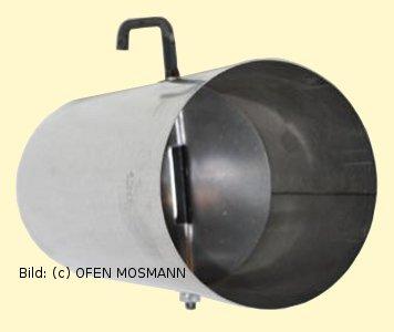 ofenrohre 120 mm o fal ofenrohr 0 25 m l nge mit drosselklappe p000125. Black Bedroom Furniture Sets. Home Design Ideas